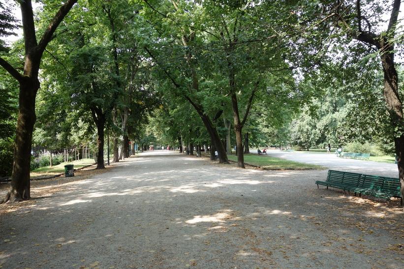 Giardini Pubblici Indro Montanelli, Milano.
