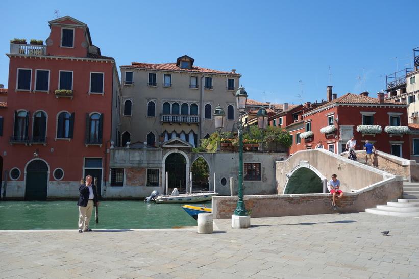 Torget Campo Santi Giovanni e Paolo, Venedig.