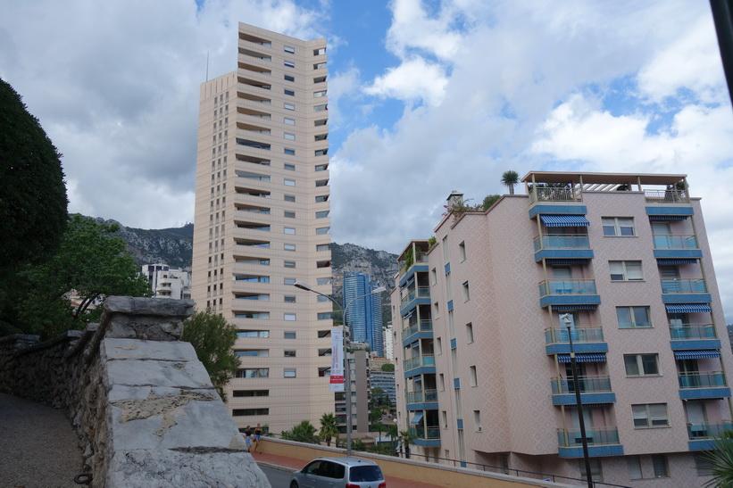 Bostadshus i Monaco.