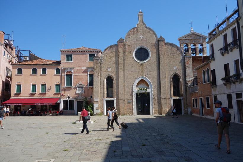 Chiesa di San Giovanni Battista in Bragora, Venedig.