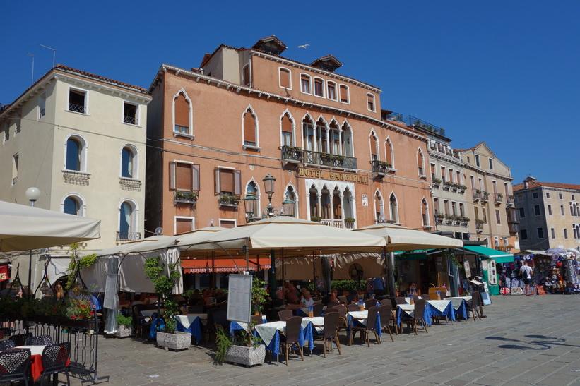 Hotel Gabrielli, Riva degli Schiavoni, Venedig.