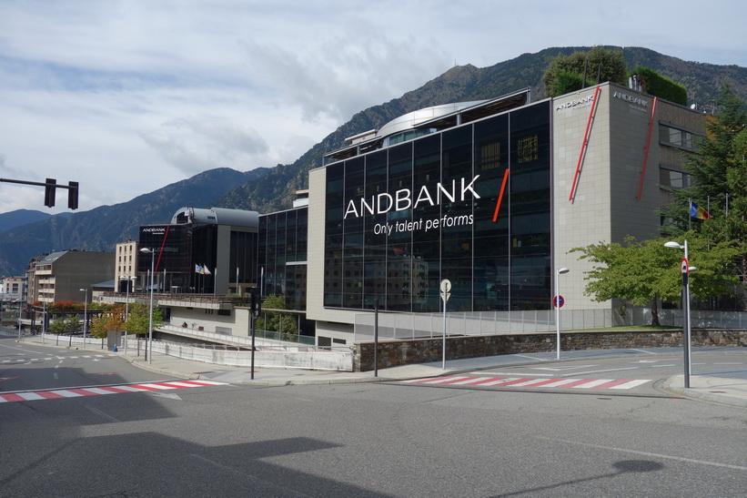 Andbank, Andorra la Vella.