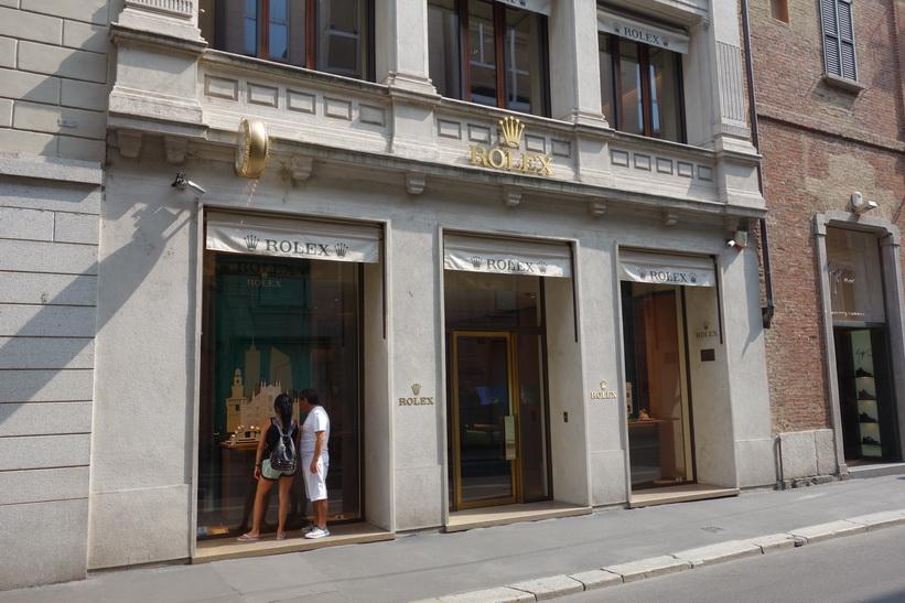 Rolex, Milano.