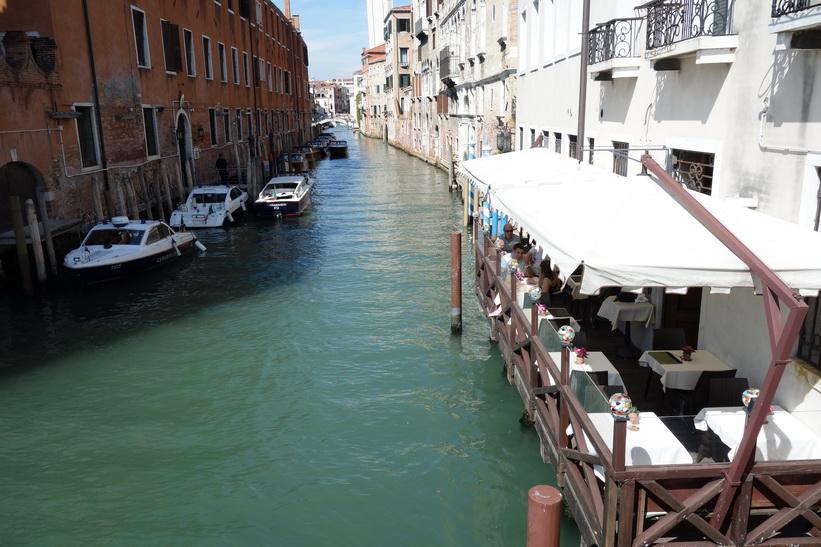 Kanalen Rio del Greci, Venedig.