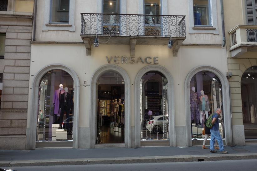 Versace, Milano.
