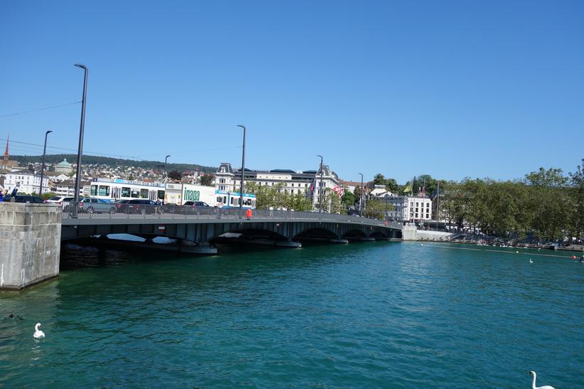Quaibrücke, Zürich.