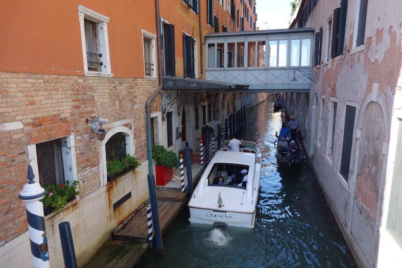 Kanalen Rio del Vin, Venedig.