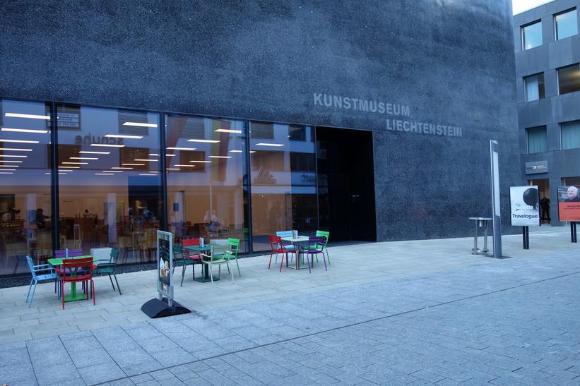 Konstmuseet i centrala Vaduz.