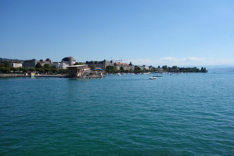 Zürichsjön, Zürich.