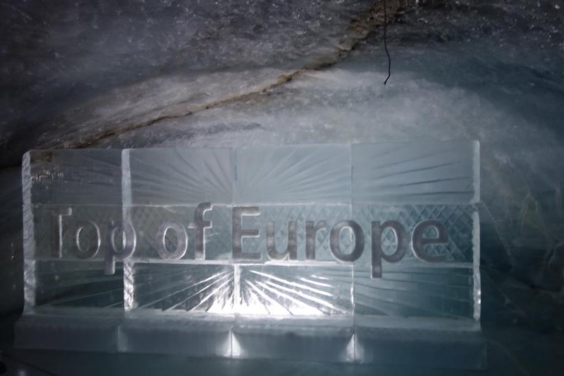 Ispalatset i Jungfraujoch.