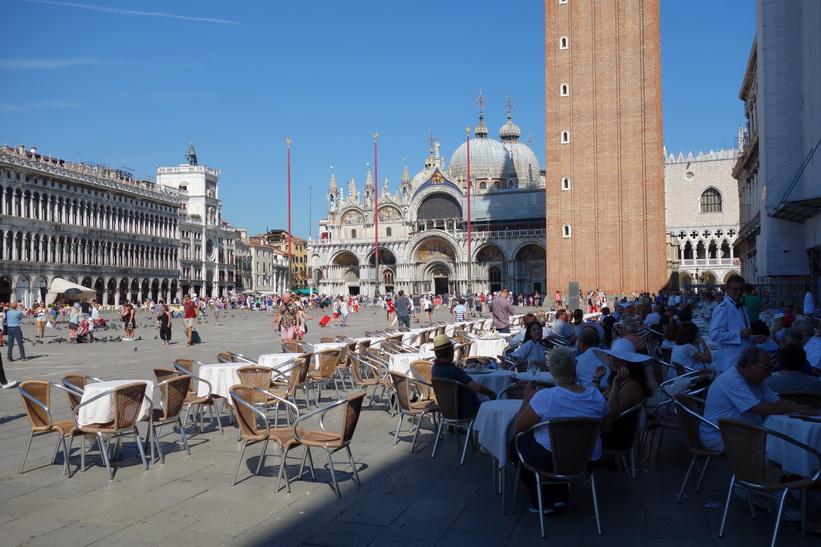 Markusplatsen, Venedig.