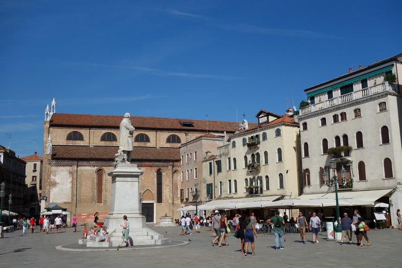 Campo Santo Stefano, Venedig.