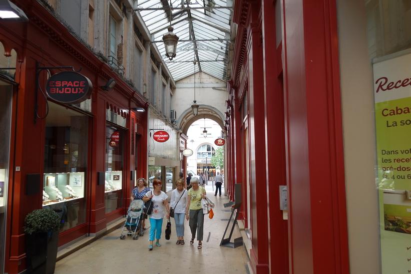 Galleria i centrala Lyon.