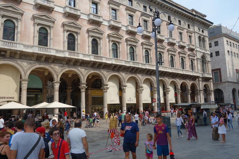 Piazza del Duomo, Milano.