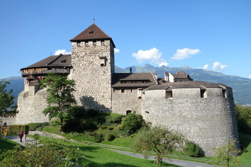 Vaduz Castle, Vaduz.