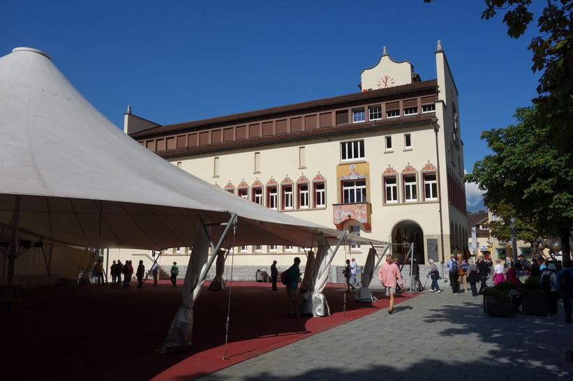 Stadshuset i Vaduz.
