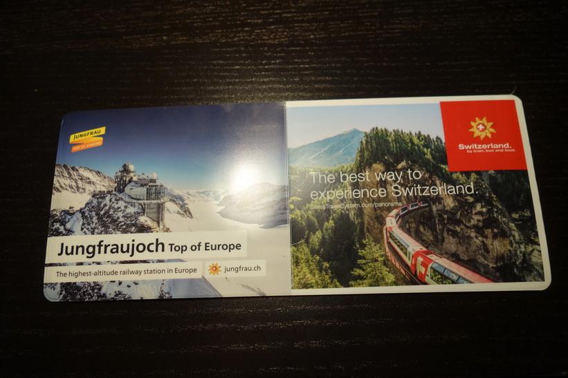 Mitt älskade Swiss Travel Pass!