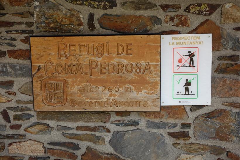 Refugio de Coma Pedrosa.