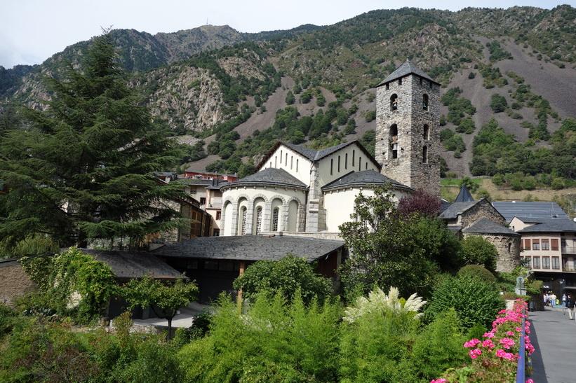Church of Saint Stephen, Andorra la Vella.