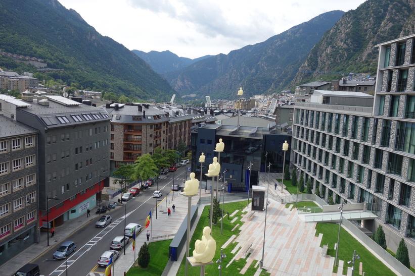 Plaça del Poble, Andorra la Vella.