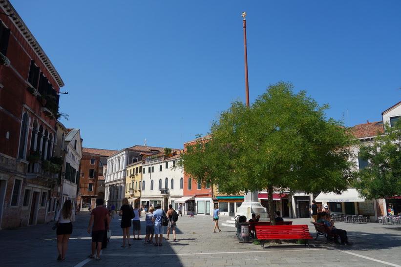 Ännu ett vackert torg, Venedig.