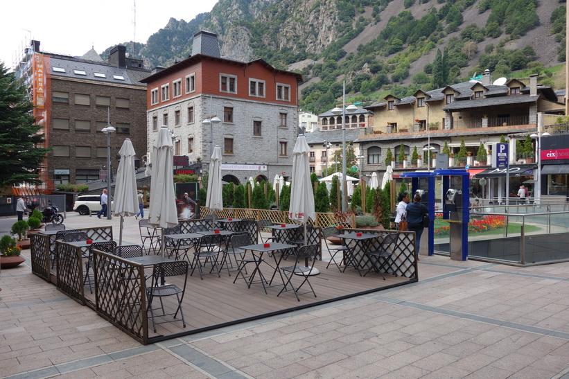 Plaça Rebés, Andorra la Vella.