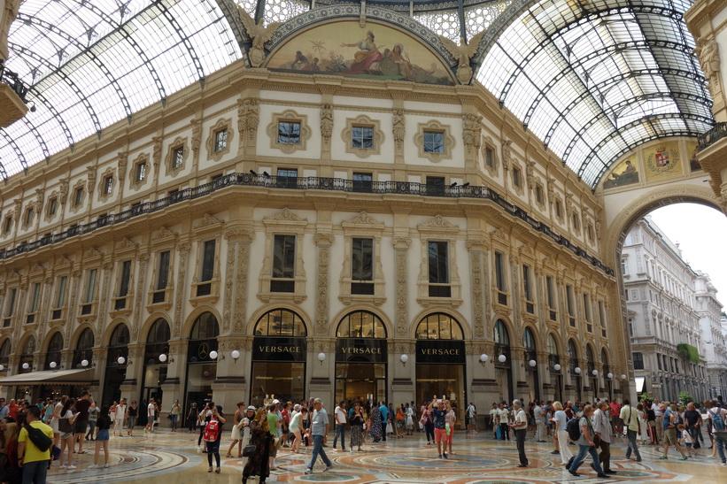 Galleria Vittorio Emanuele II, Milano.