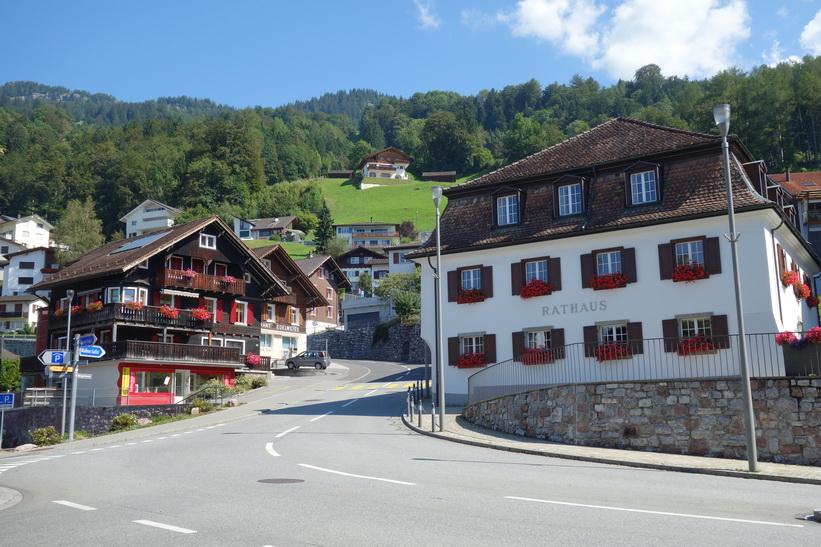 Stadshuset i Triesenberg, Lichtenstein.