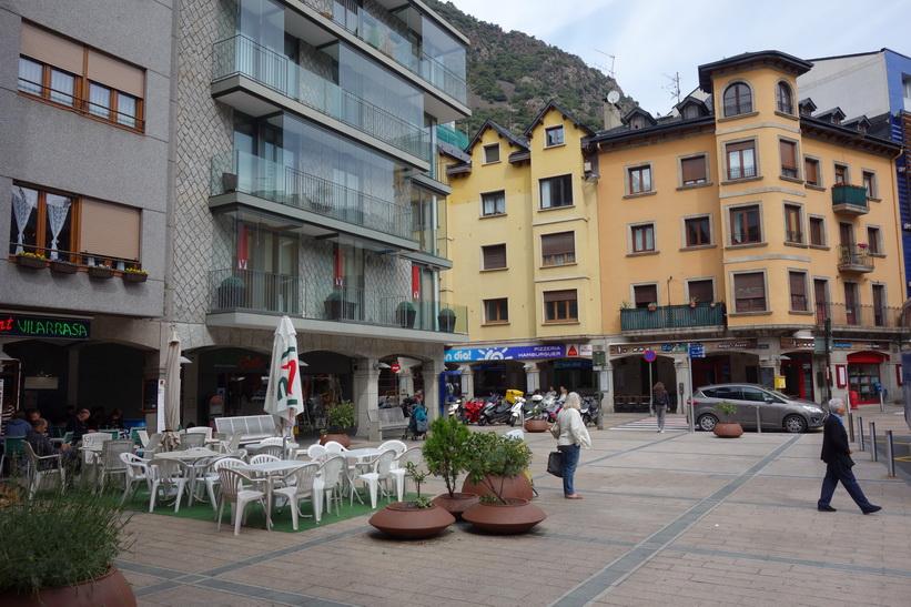 Torget Plaça Guillemó, Andorra la Vella.