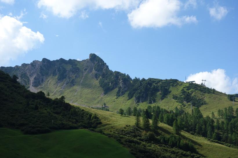Naturen i Malbun, Lichtenstein.