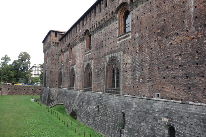 Castello Sforzesco, Milano.