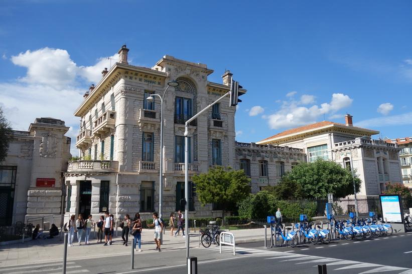 Lycée Masséna, Promenade du Paillon, Nice.
