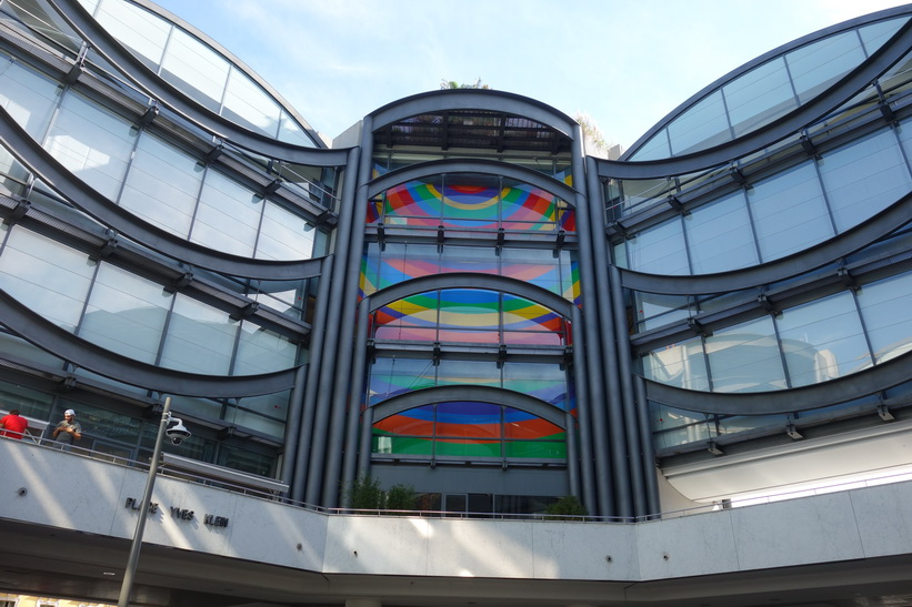Musée d'Art Moderne et d'Art Contemporain, Place Yves Klein, Nice.