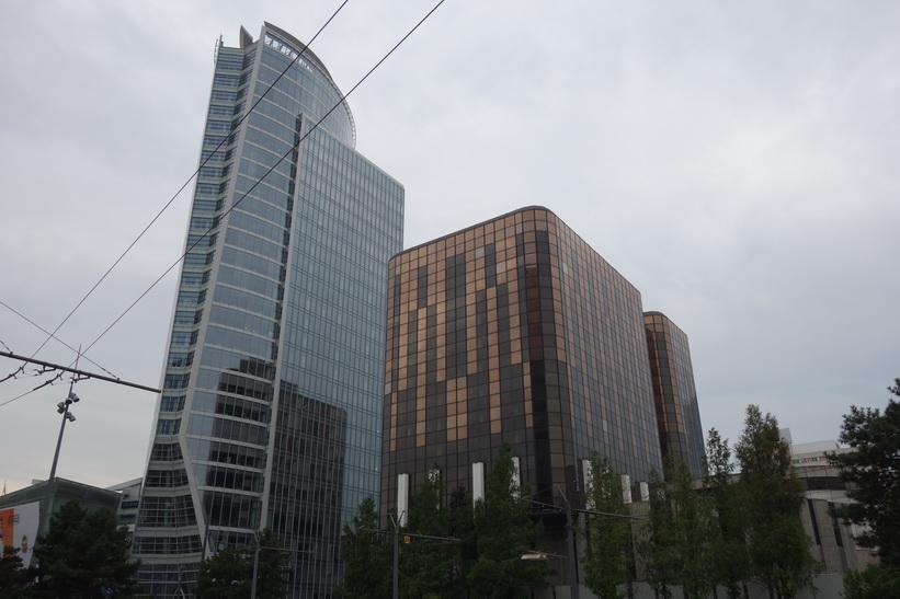 La Part-Dieu, finansdistriktet i Lyon.
