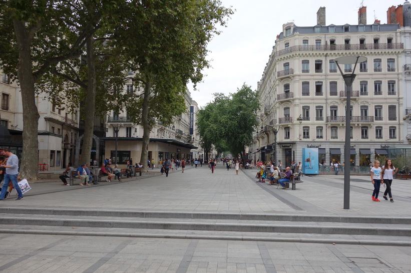Torget Place de la République, Lyon.