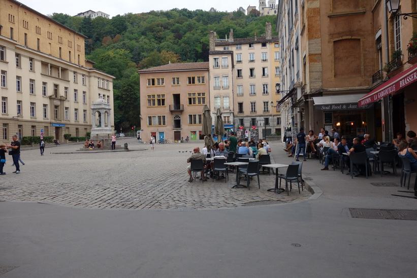 Torget Place Saint-Jean, Lyon.