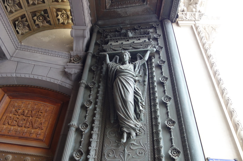 La Basilique Notre Dame de Fourvière, Lyon.
