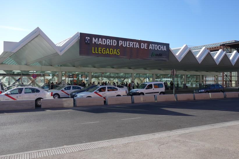 Estación de Madrid Atocha, Madrid.