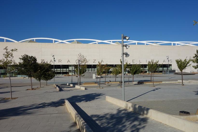 Zaragoza-Delicias tågstation.