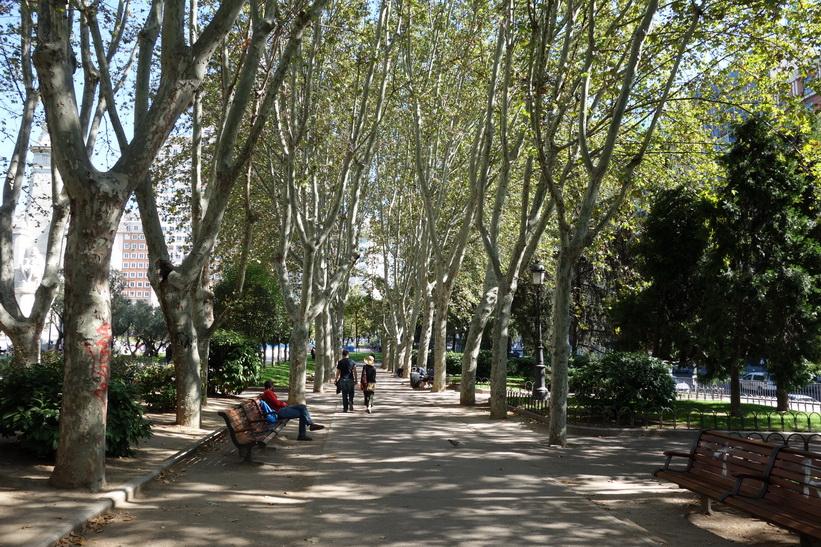 Plaza de España, Madrid.