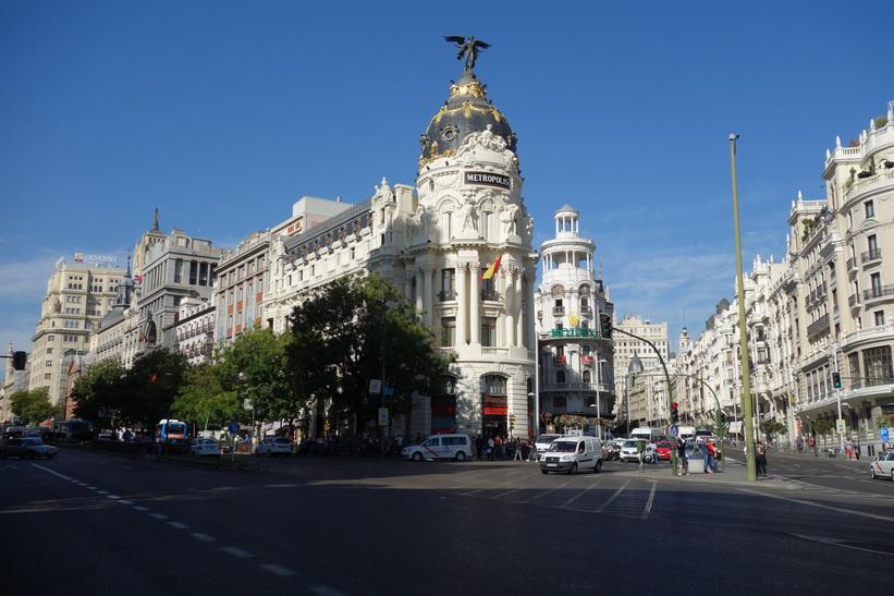 Edificio Metropolis, Madrid.