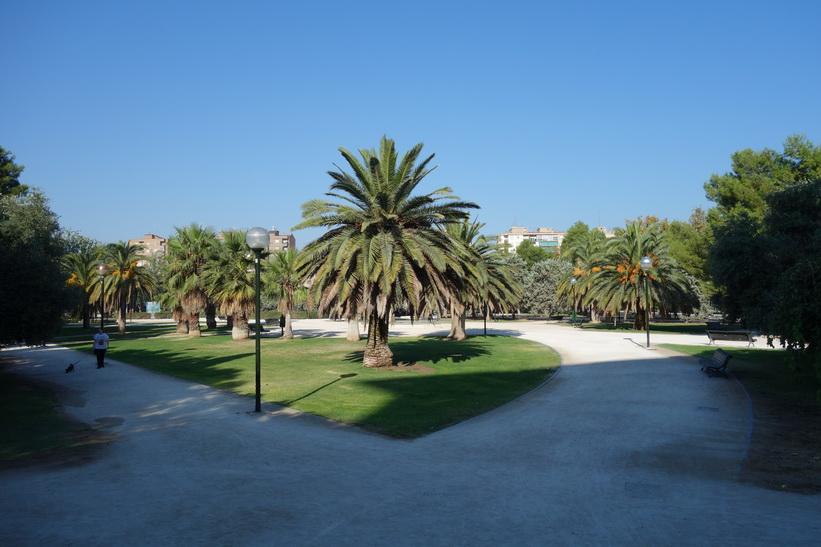 Park i centrala Zaragoza.