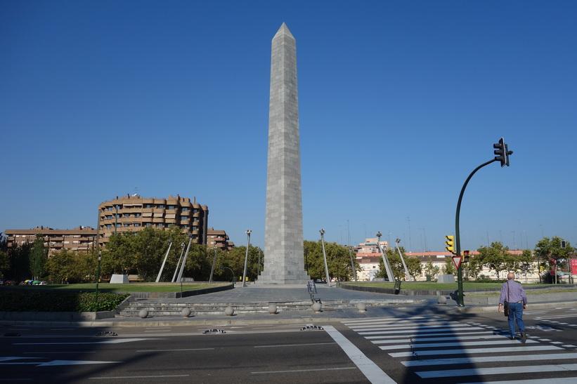 Plaza Pzeuropa, Zaragoza.
