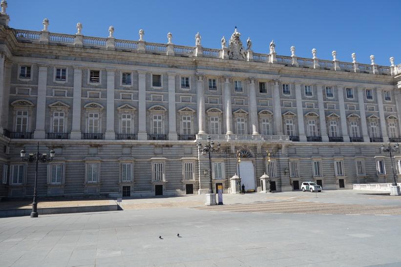 Palacio Real de Madrid, Madrid.