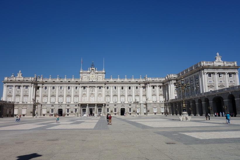 Plaza de la Armería, Madrid.