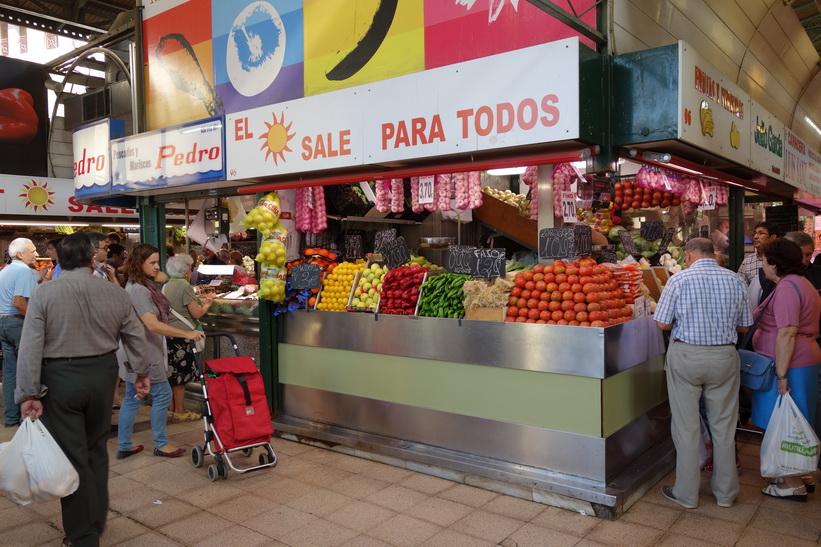 Mercado Central, Zaragoza.