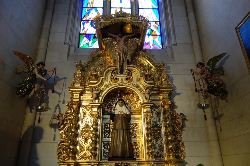 Catedral de Santa María la Real de la Almudena, Madrid.