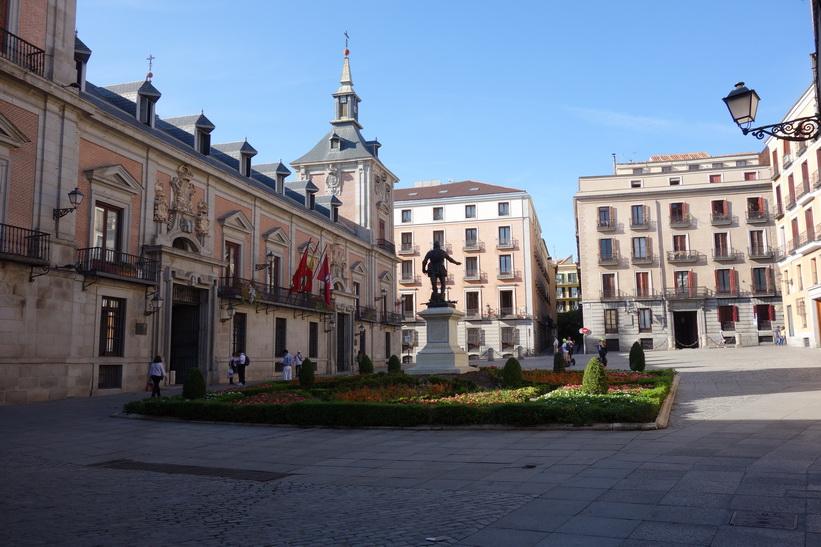Plaza de la Villa, Madrid.