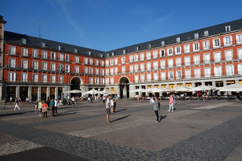 Fantastiska Plaza Mayor, Madrid.