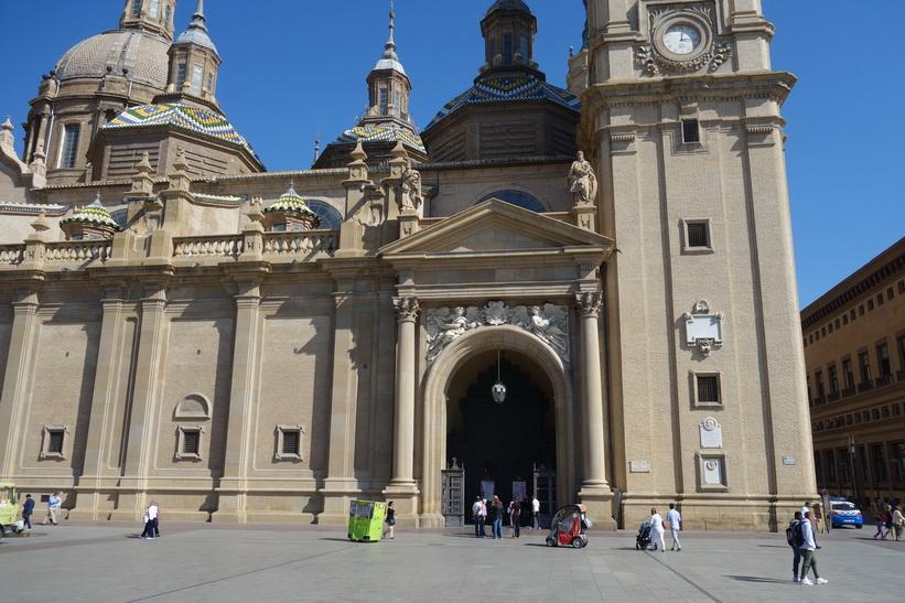 Basílica de Nuestra Señora del Pilar, Zaragoza.